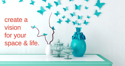 Create a vision for your space and life.